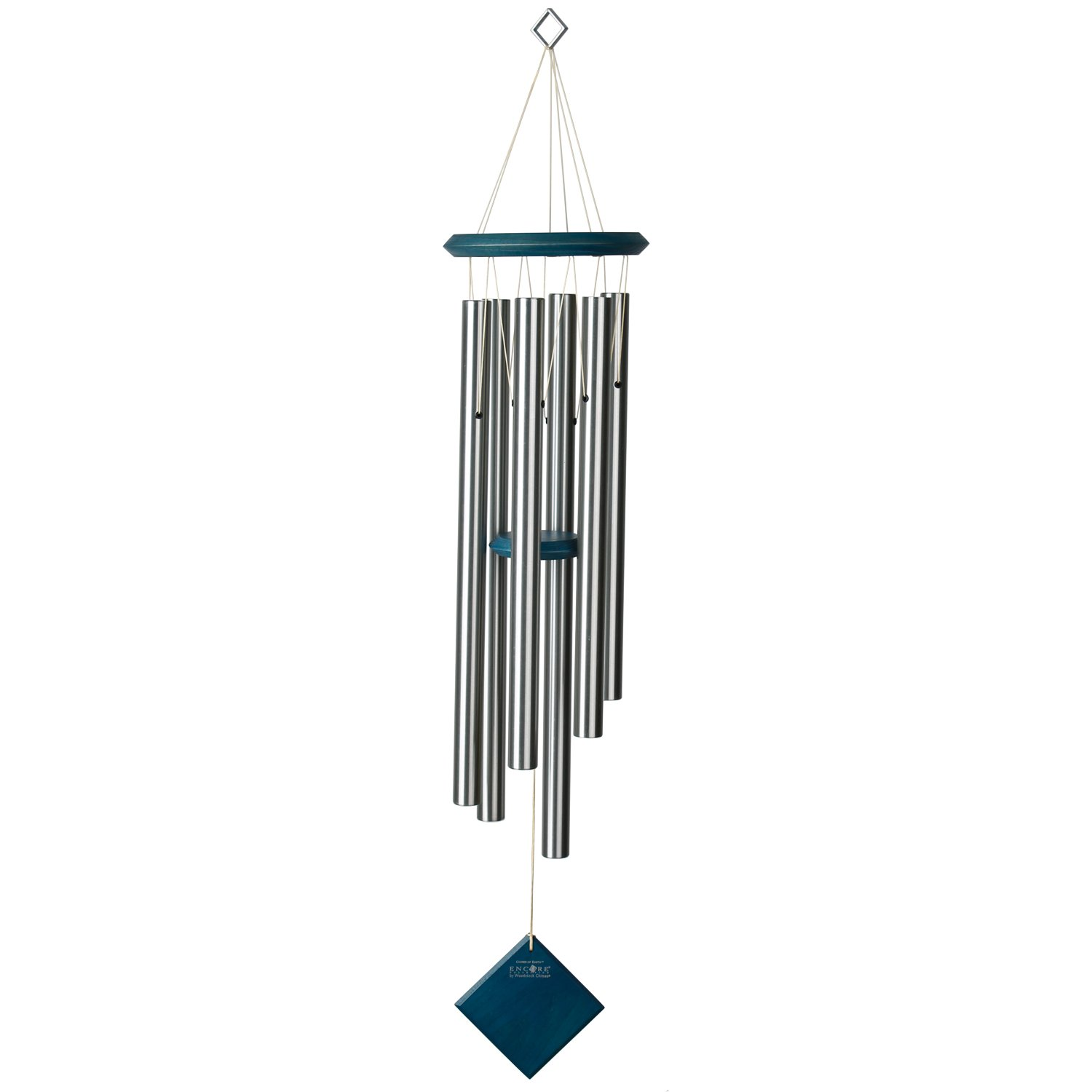 Encore Collection by Woodstock Chimes - The ORIGINAL Guaranteed Musically Tuned Chime, Chimes of Earth - Blue Wash