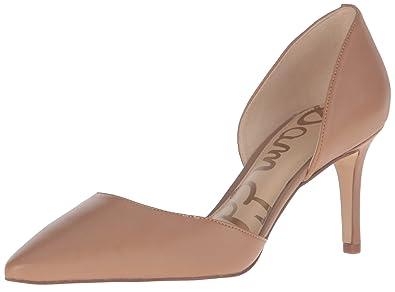 Sam Edelman Women's Telsa Pump, Golden Caramel Leather, ...