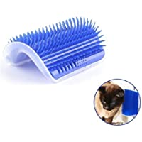 Bello Luna Cat Self Groomer, Pet Massage Grooming Brush Wall Corner Massage Comb