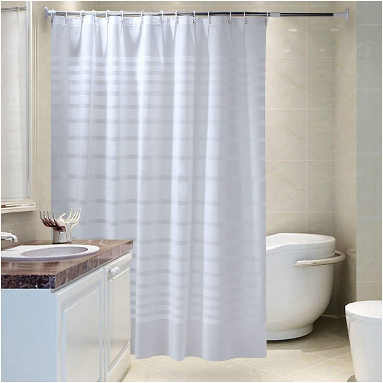 Top qualité salle de bains rideau de douche avec ring crochets 180 x 180 cm divers design