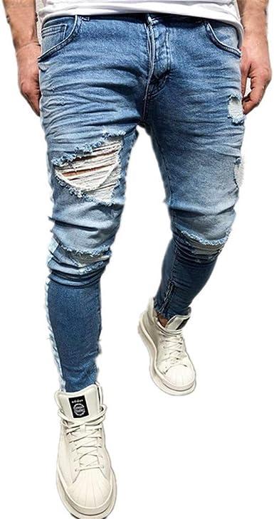 تسلق ذوبان الجليد ذوبان الجليد ذوبان الجليد التشوه Pantalones Jeans Pitillos Rasgados Para Hombres Loudounhorseassociation Org