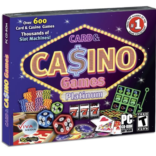 Card & Casino Games Platinum: Over 600 Card & Casino Games Thousands of Slot (Video Poker Slot Machines)