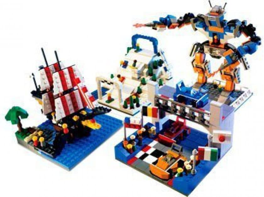 Lego Factory Building Your Way Amusement Park (5525) Exlusive and HARD TO FIND !
