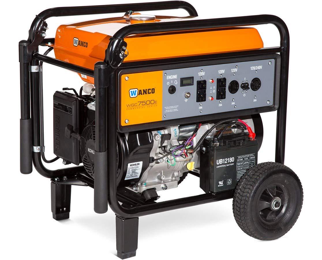 Wanco WGC3800 Portable Gas Generator