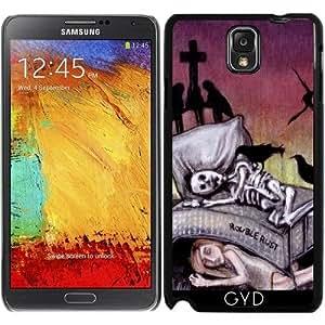 Funda para Samsung Galaxy Note 3 (GT-N9500) - Por Fin Durmiendo by Rouble Rust