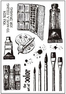 ImpressArt 2 Mandala Stamp Guides EZ Spacing Lining Up Your Intricate Stamping Designs