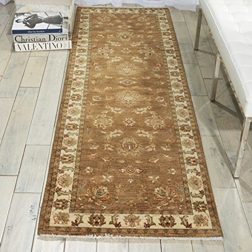 Nourison Legend (LD04) Chocolate Rectangle Area Rug, 7-Feet 9-Inches by 9-Feet 9-Inches (7'9