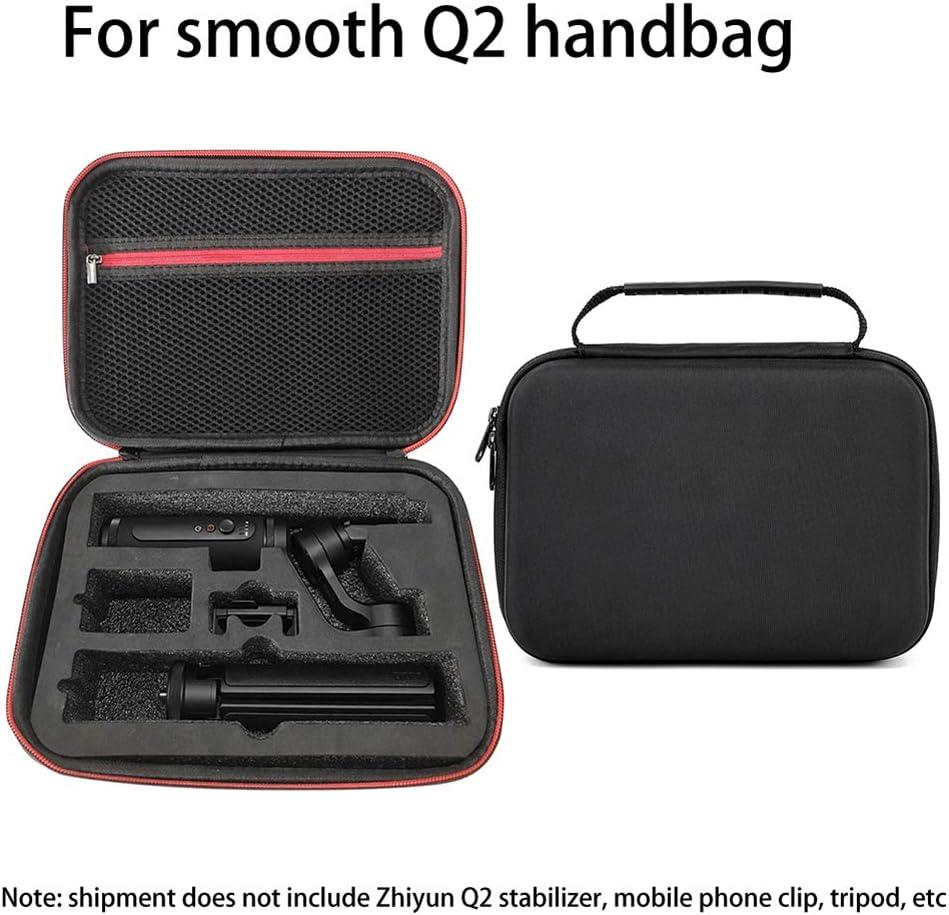 heaven2017 Gimbal Stabilizer Zipper Case Storage Briefcase Handbag for Zhiyun Smooth Q2