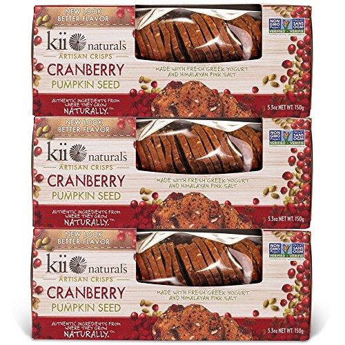 Kii Naturals Artisan Crisps Cranberry