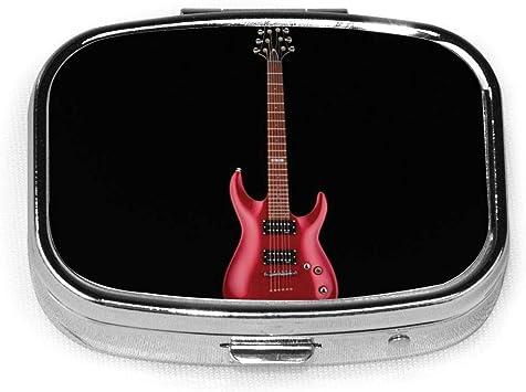 Pastillero portátil de metal para guitarra, instrumento de ...