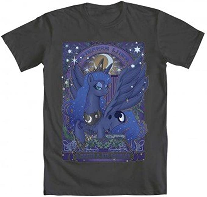 Amazon.com: My Little Pony – Princesa Luna Nouveau – Camisa ...