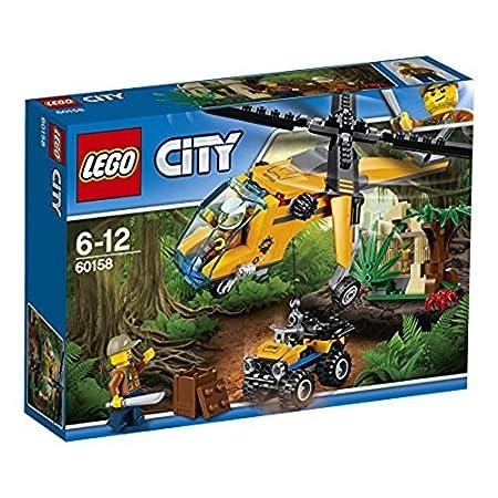 LEGO City In Out Jungla: Helicóptero de transporte