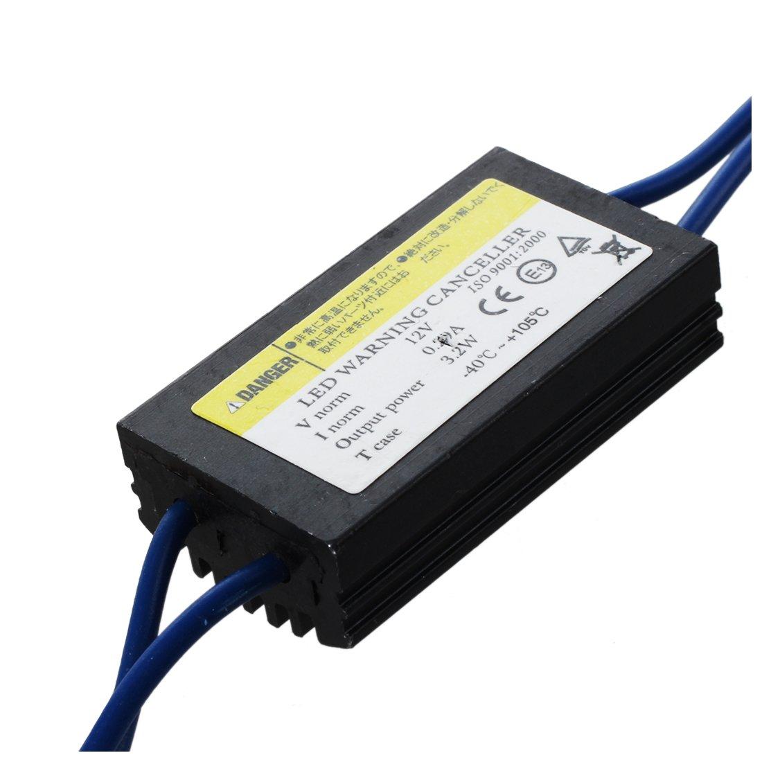 Cikuso 2X Warning Canceller Resistenze Canbus T10 W5W Elimina Errore Luce Luci a LED