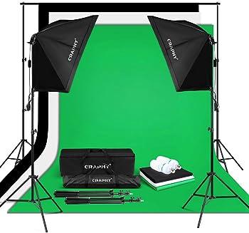 Craphy 5500K Photo Studio Video Lighting Kit
