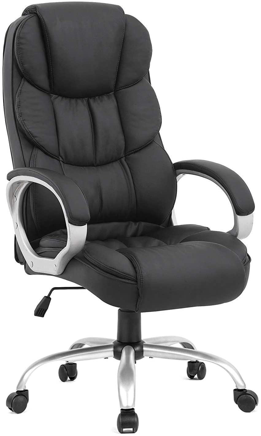 BestOffice Ergonomic PU Leather Office Chair