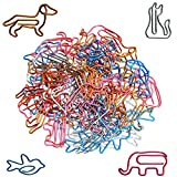 #3: Paper Clips Small Sizes and Colors Assorted - Cute Animal Shapes Paperclips, Funny Office Supplies Gifts