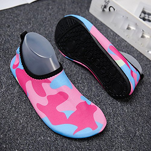 Snorkeling light Scarpe Da Uomini Calze Donne Quick Rosa Immersione Anti Yoga Beach Surf Acqua Waitfor slipped Hot Camminare Nuotare Aqua dry Unisex Per Ultra Barefoot v1Fwqxd