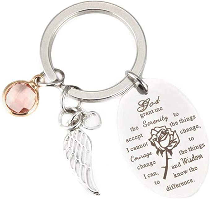 Men Crazy Horse Leather Handmade Key Chain Ring Keyfob Car Keyring Pendant Gift