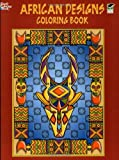 African Designs Coloring Book, Marty Noble, 0486430375