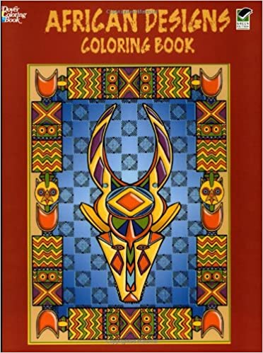 African Designs Coloring Book Dover Design Books Marty Noble 9780486430379 Amazon