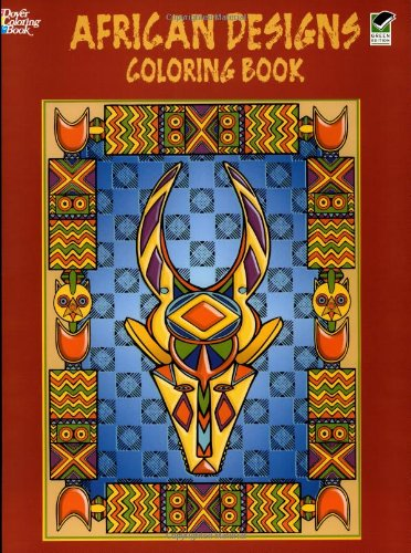 African Designs Coloring Book (Dover Design Coloring Books) -