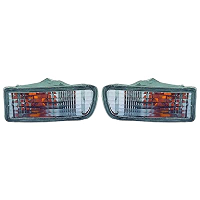 For Toyota 4Runner 1999-2002 Signal Light Assembly Pair Driver and Passenger Side (DOT Certified) TO2530133, TO2531133: Automotive