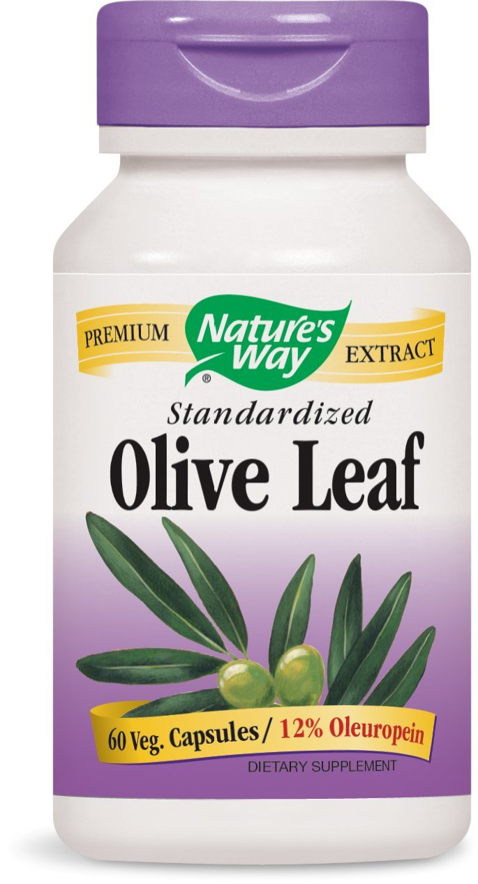 Nature's Way Olive Leaf, 60 Capsules
