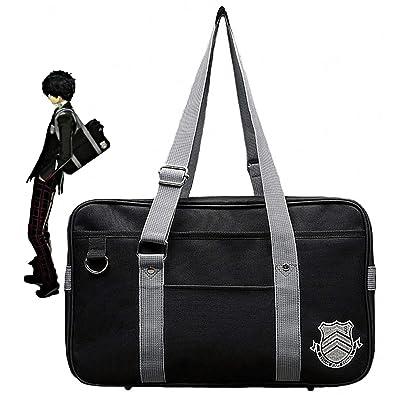 Game Persona 5 P5 Joker High School JK Bag Uniform Ren Amamiya Shoulder Bags(NEW style add Non-slip nail): Clothing