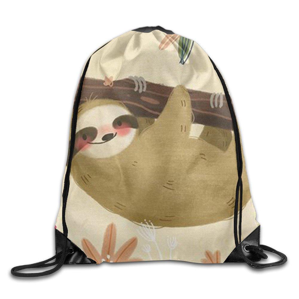 d1d0120b3d11 Smile Mouse Lightweight Drawstring Bag Sport Gym Backpack Gym Bag ...
