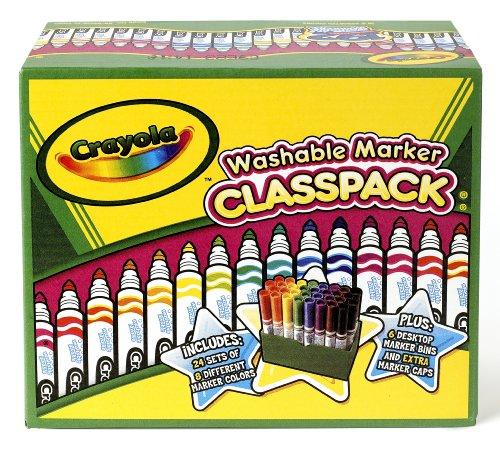 Crayola 58 8208 Washable Classpack Assorted