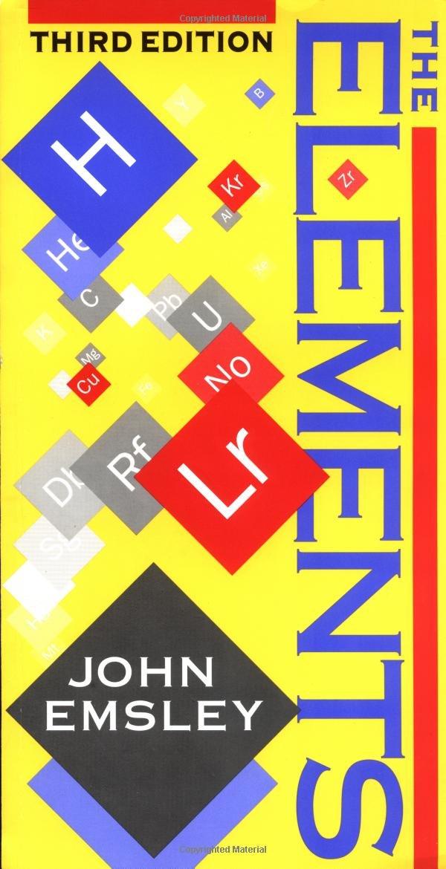 The elements oxford chemistry guides amazon john emsley the elements oxford chemistry guides amazon john emsley 9780198558187 books urtaz Choice Image