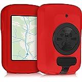 kwmobile Custodia per Garmin Edge 820 / Explore 820 - Cover protettiva navigatore bici - Porta navigatore dispositivo GPS in silicone - rosso