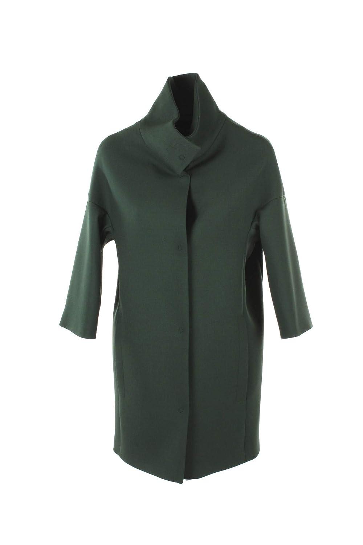 PARIS LONDON Cappotto Donna 48 Verde Elia Amburgo Autunno Inverno 2018/19