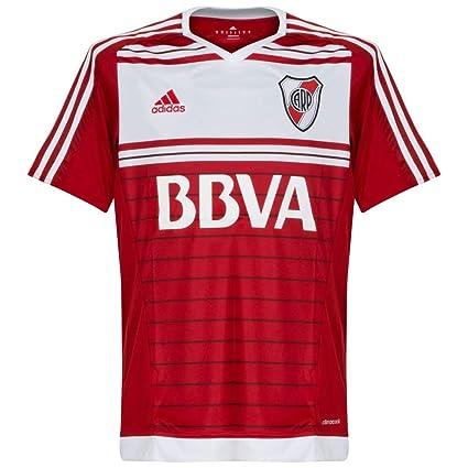 a540b07fe Amazon.com   adidas River Plate Away Shirt 2015 2017   Sports   Outdoors