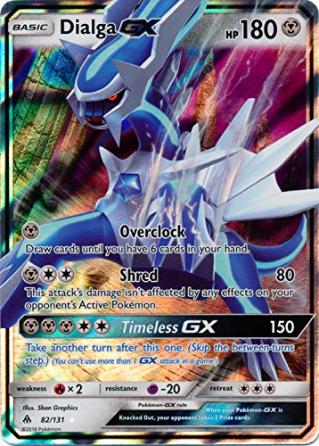 (Dialga GX - 82/131 - Ultra Rare GX Forbidden Light)