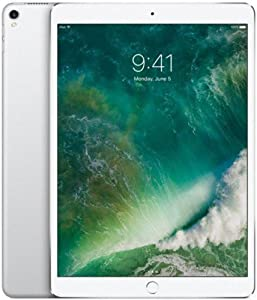 Apple iPad Pro 10.5in (2017) 512GB, Wi-Fi - Silver (Renewed)