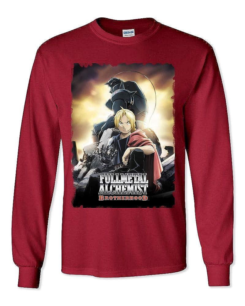FulMetAl-6/_Parent LS WallScrollPosters Full Metal Alchemist Anime Unisex Long Sleeve Shirt