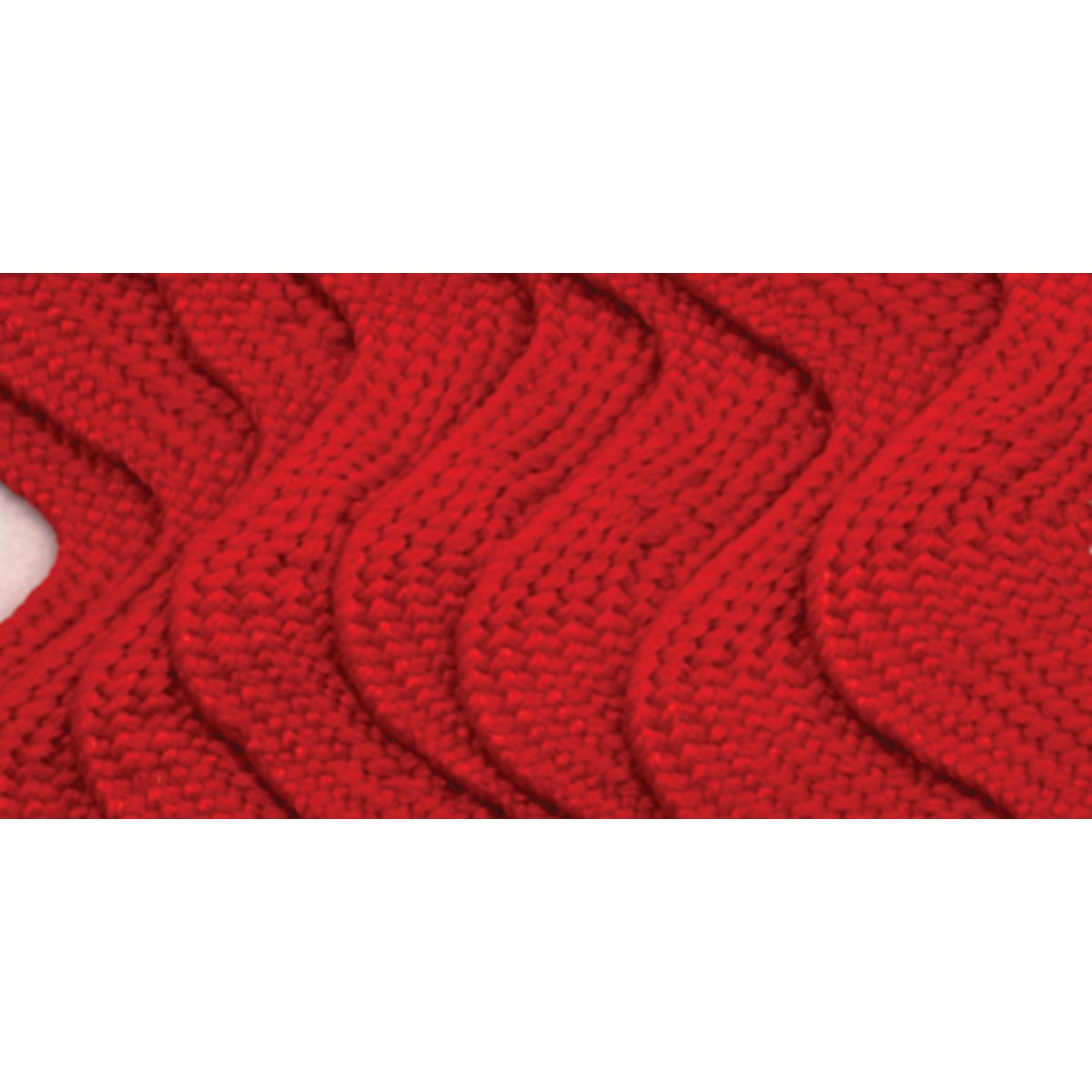 Scarlet 2.5-Yard Wrights 117-402-076 Polyester Rick Rack Trim Jumbo