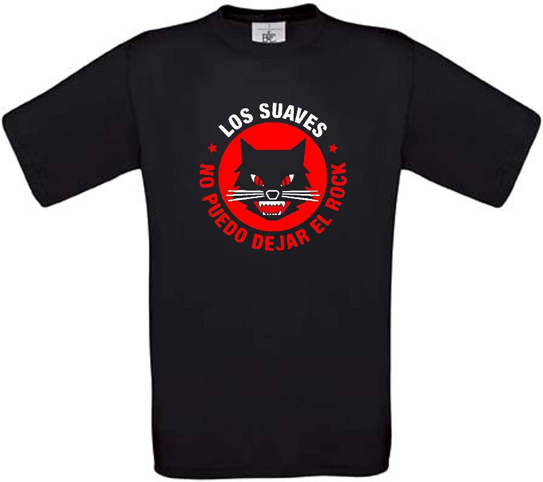 Camiseta LOS Suaves Rock español Algodon Calidad 190grs: Amazon.es: Ropa y accesorios