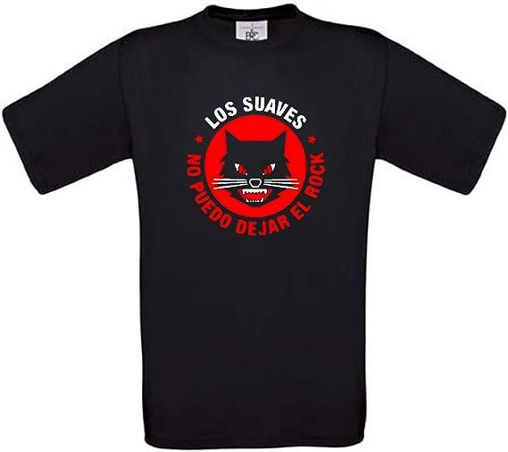 Camiseta LOS Suaves Rock español Algodon Calidad 190grs: Amazon.es ...