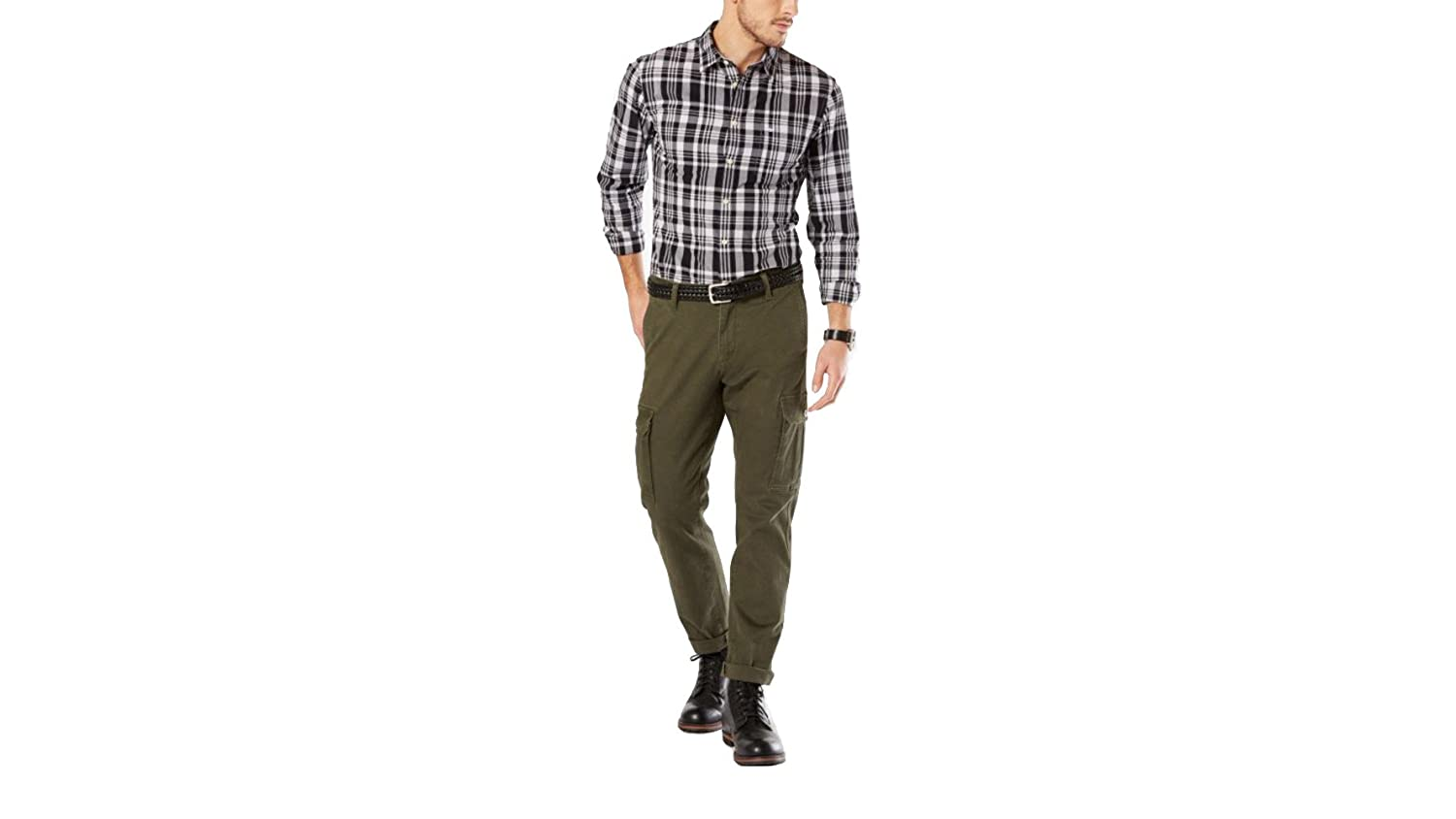 Dockers Men's Big and Tall Standard Cargo Pant 32878
