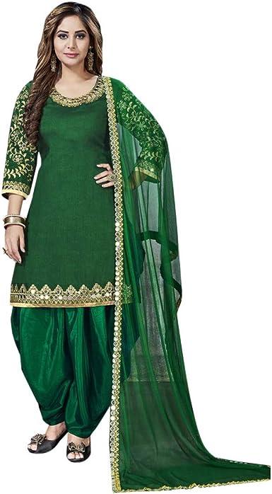 Suit Patiala Salwar Kameez Indian Designer Pakistani Punjabi Wear Wedding Dress