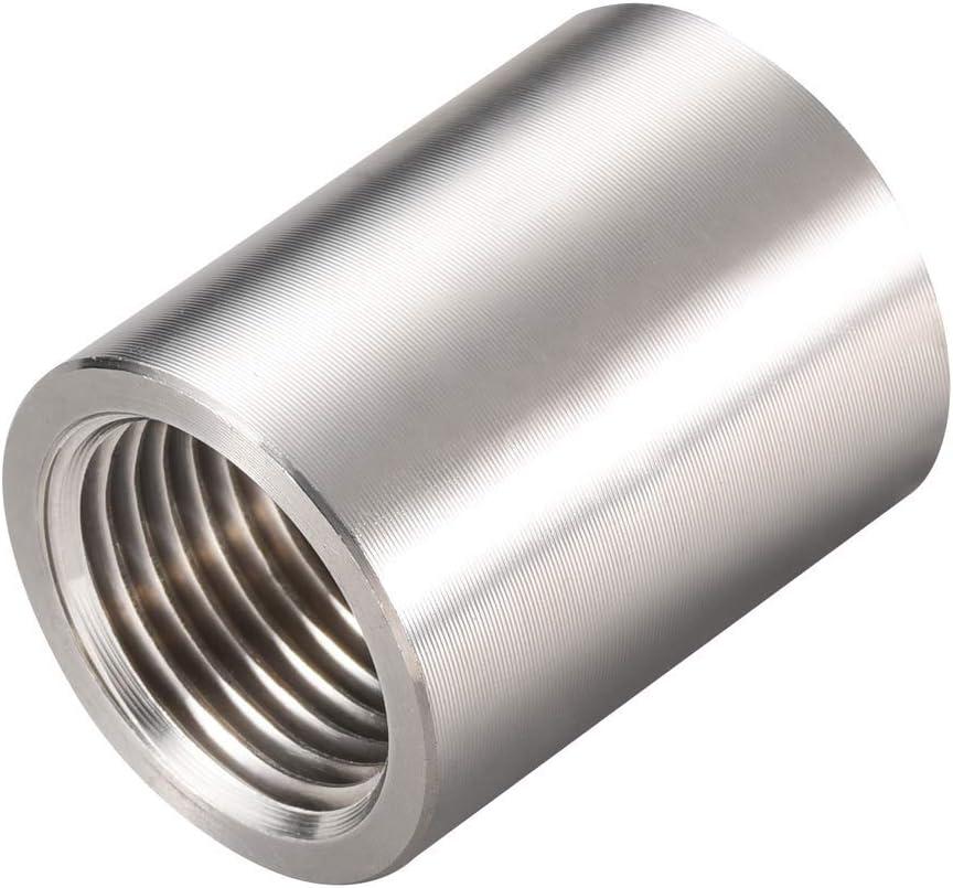1//2 Female x Female Threaded Pipe Fitting Stainless Steel SS304 NPT NEW