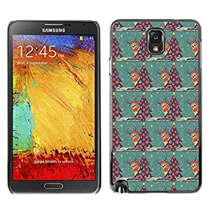ZECASE Funda Carcasa Tapa Case Cover Para Samsung Galaxy Note 3 N9000 No.0000016