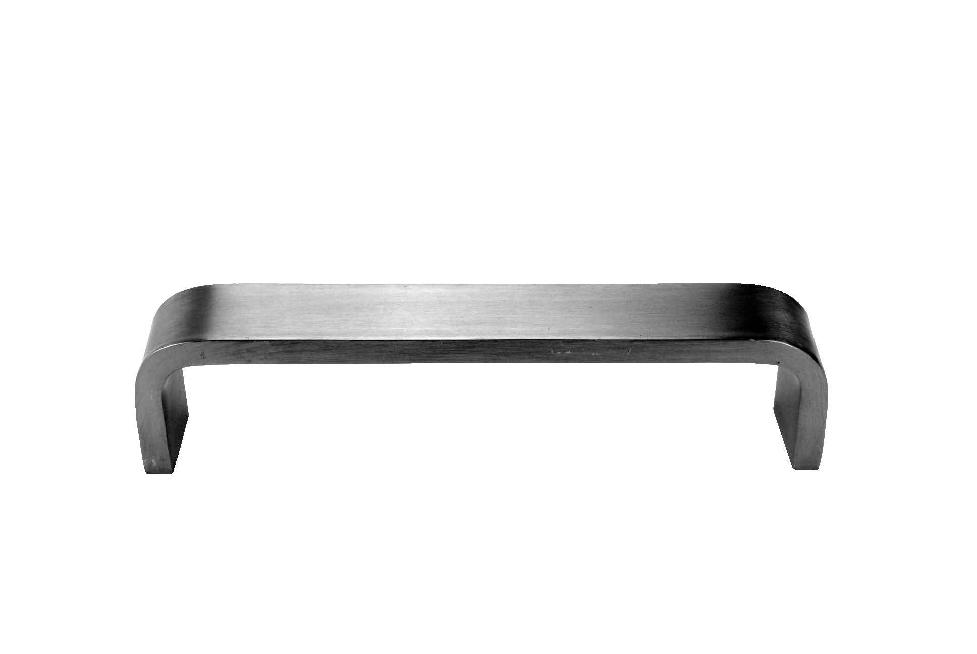 Don-Jo 30 Solid Bar Stock Flat Bar Door Pull with Through Holes, Rectangular, Satin Stainless Steel Finish, 6'' Center-to-Center, 2'' Projection, 1-5/8'' Clearance by Don-Jo