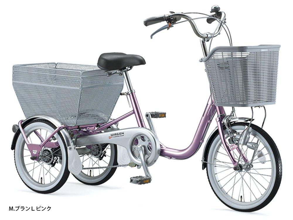 ブリヂストン(BRIDGESTONE) ブリヂストンワゴン シングル BW10 三輪自転車 MブランLピンク 4194 B01AY27DZS