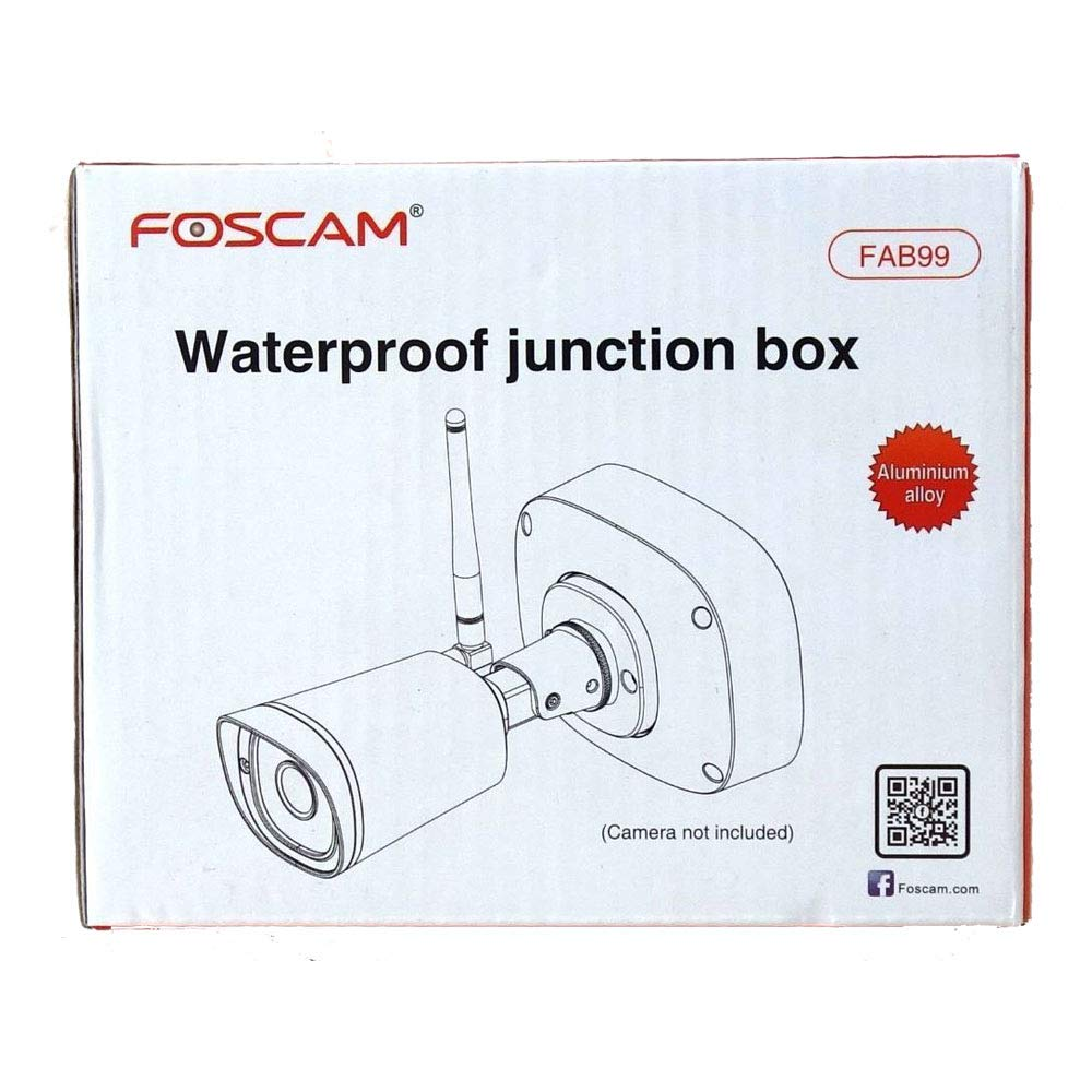 Foscam Fab99 Waterproof Junction Box Specially Designed For Foscams Wiring Diagram Outdoor Cameras Fi9900p Fi9800pfi9900ep And Ip In Nvr Security Systems