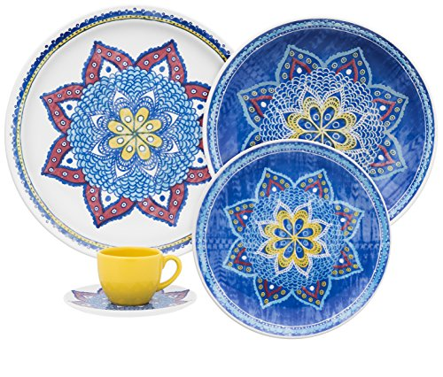 Oxford Coup Porcelain Harmony Collection Dinnerware Set, Whi