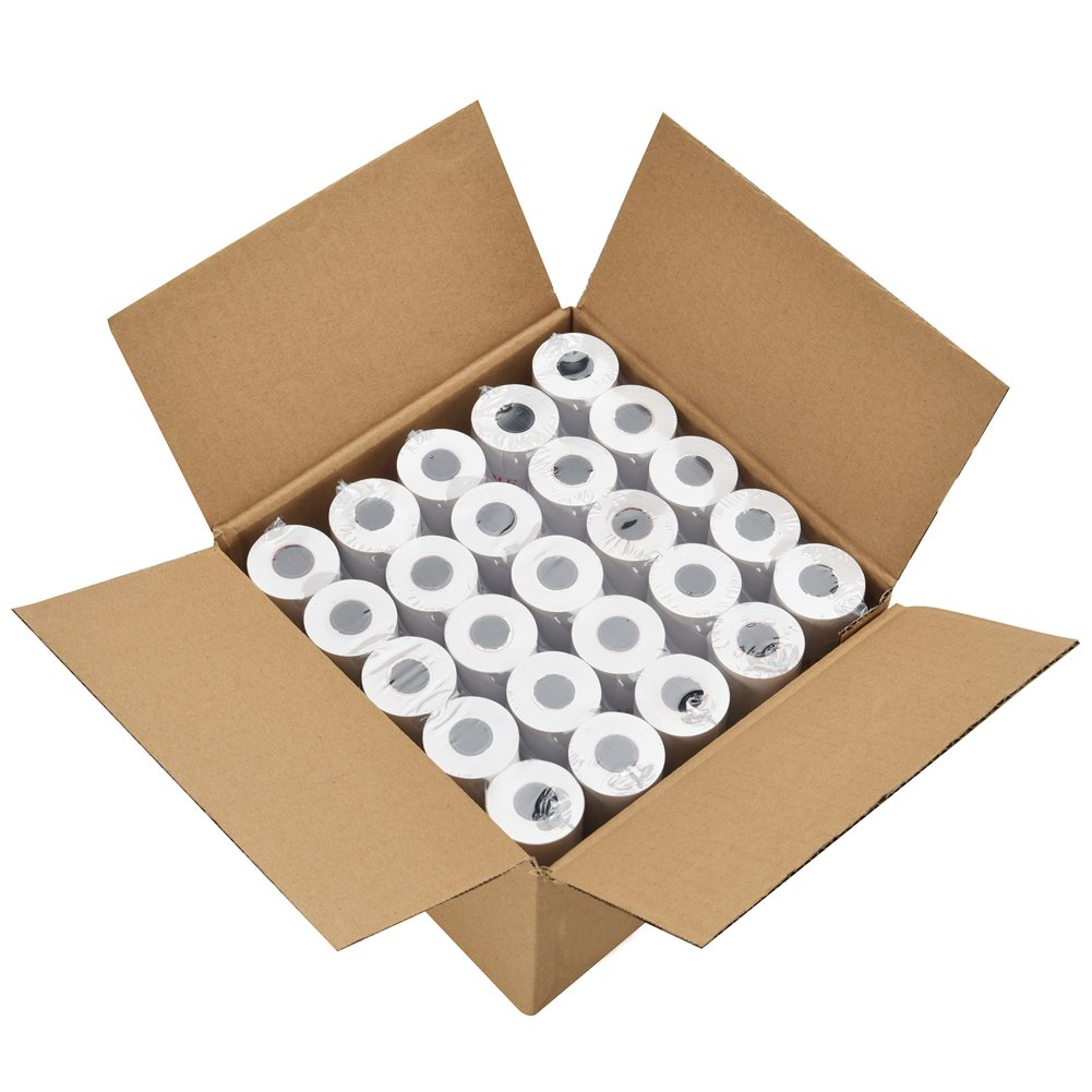 PackingSupply Thermal Paper Rolls 2 1/4'' x 165' Cash Register POS Receipt Paper (50 Rolls) by FungLam