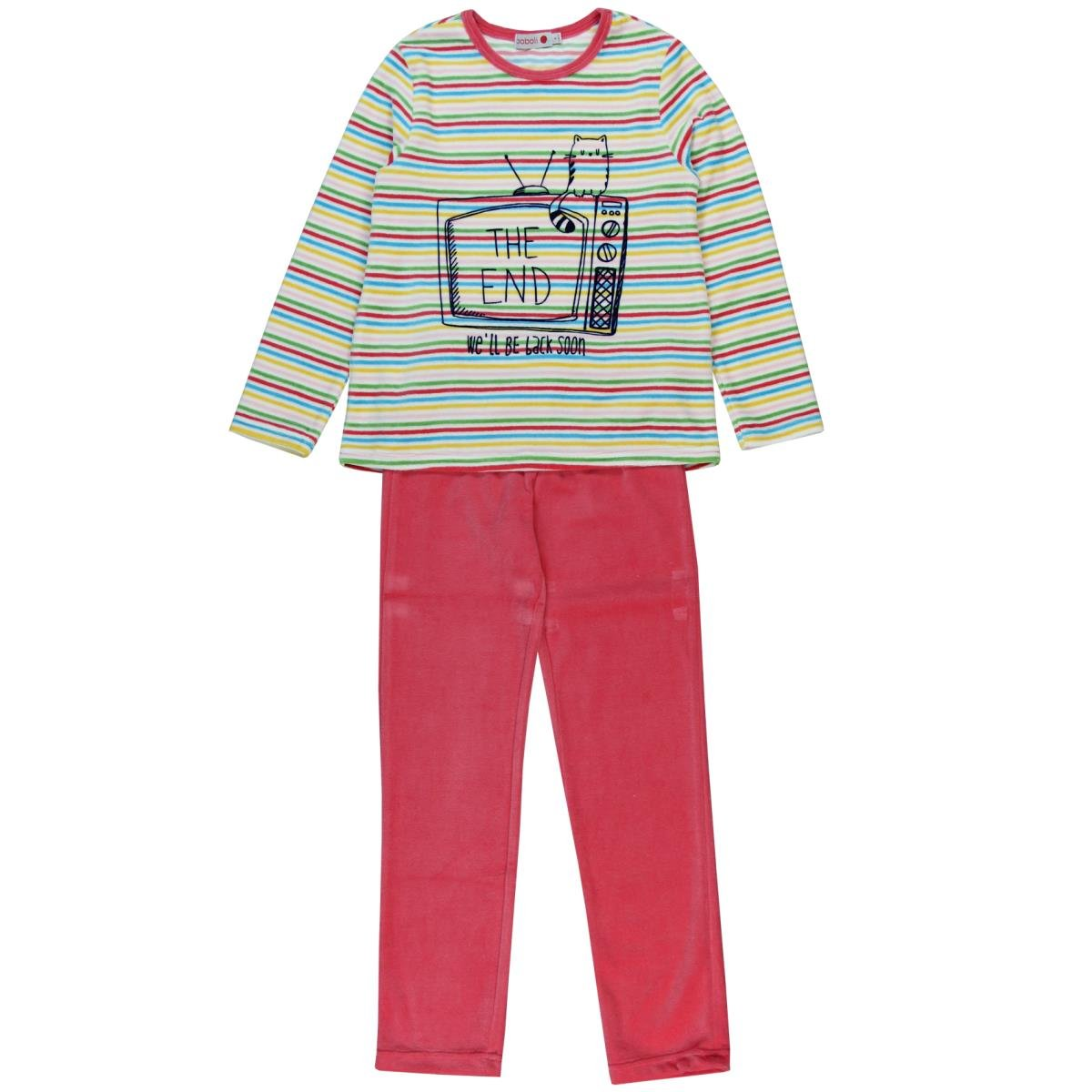 boboli Velour Pyjamas for Girl, Pigiama Bambina